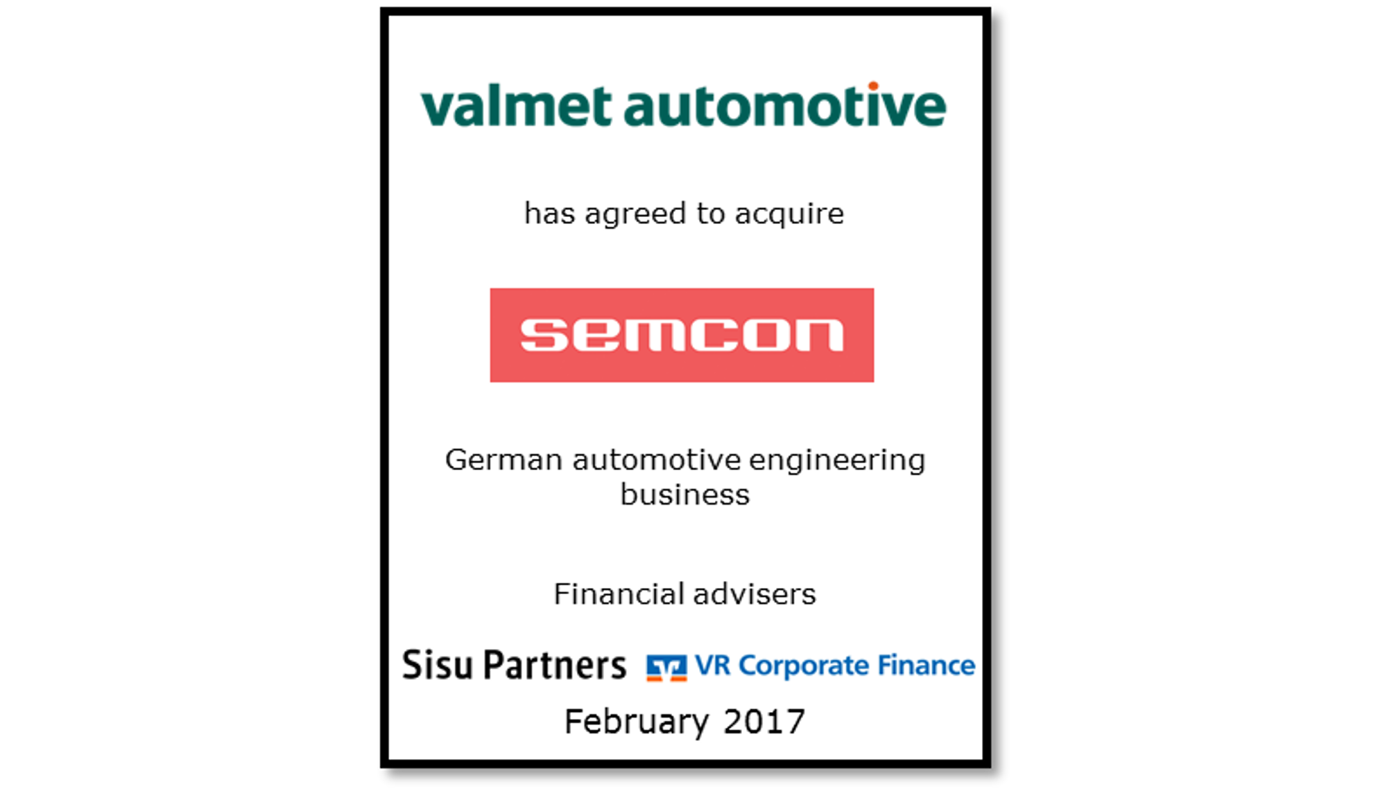 Valmet Automotive Semcon Germany